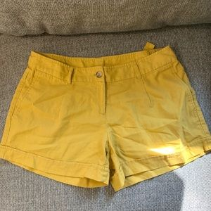 NWOT mustard Willi smith shorts